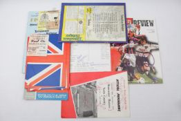 Collection of 1960s and Later Tottenham and other Football programmes and ephemera inc. Signed David