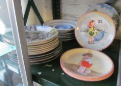 Some Wedgwood and other collectable plates