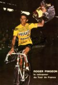 CYCLISTS: An excellent selection of scarce signed photographs and postcards, most colour,