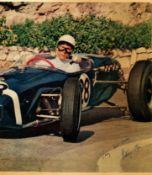 MOSS STIRLING: (1929-2020) British Formula One Motor Racing Driver.
