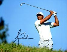 WOODS TIGER: (1975- ) American Professional Golfer, Open Championship winner 2000, 2005 & 2006.