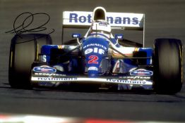 FORMULA ONE: Selection of colour signed 12 x 8 photographs by various Formula One Motor Racing