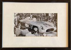 FANGIO JUAN MANUEL: (1911-1995) Argentine Motor Racing Driver, Formula One World Champion 1951,