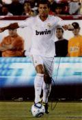 RONALDO CRISTIANO: (1985- ) Portuguese Footballer. Colour signed 8 x 12 photograph by Ronaldo.