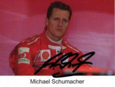 SCHUMACHER MICHAEL: (1969- ) German Motor Racing Driver, Formula One World Champion 1994, 1995,