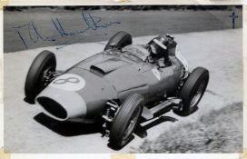HAWTHORN MIKE: (1929-1959) British Racing Driver. First British Formula One World Champion in 1958.