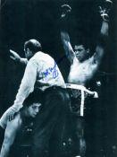 ALI MUHAMMAD: (1942-2016) American Boxer, World Heavyweight Champion.