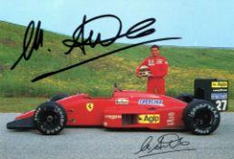 ALBORETO MICHELE: (1956-2001) Italian racing Driver and formula one Pilot.