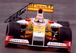 FORMULA ONE: Fernando Alonso (1981- ) Spanish Motor Racing Driver,