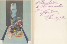 BACON FRANCIS: (1909-1992) Irish-born British Painter.