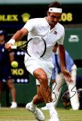 FEDERER ROGER: (1981- ) Swiss Tennis Player.