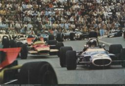 RINDT JOCHEN: (1942-1970) German Formula One Motor Racing Driver, World Champion, 1970.