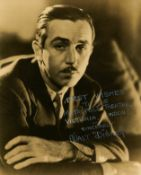 [DISNEY WALT]: (1901-1966) American Animator, Academy Award winner.