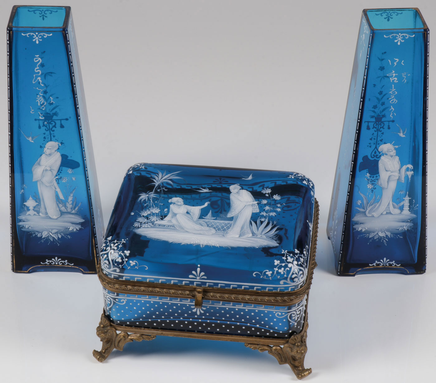 Lot 30 - IMPORTANT MARY GREGORY ORIENTAL WARE