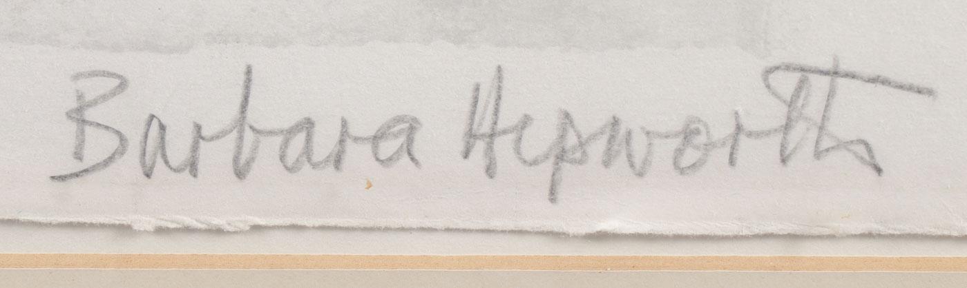 BARBARA HEPWORTH MODERN WORK - Image 2 of 3