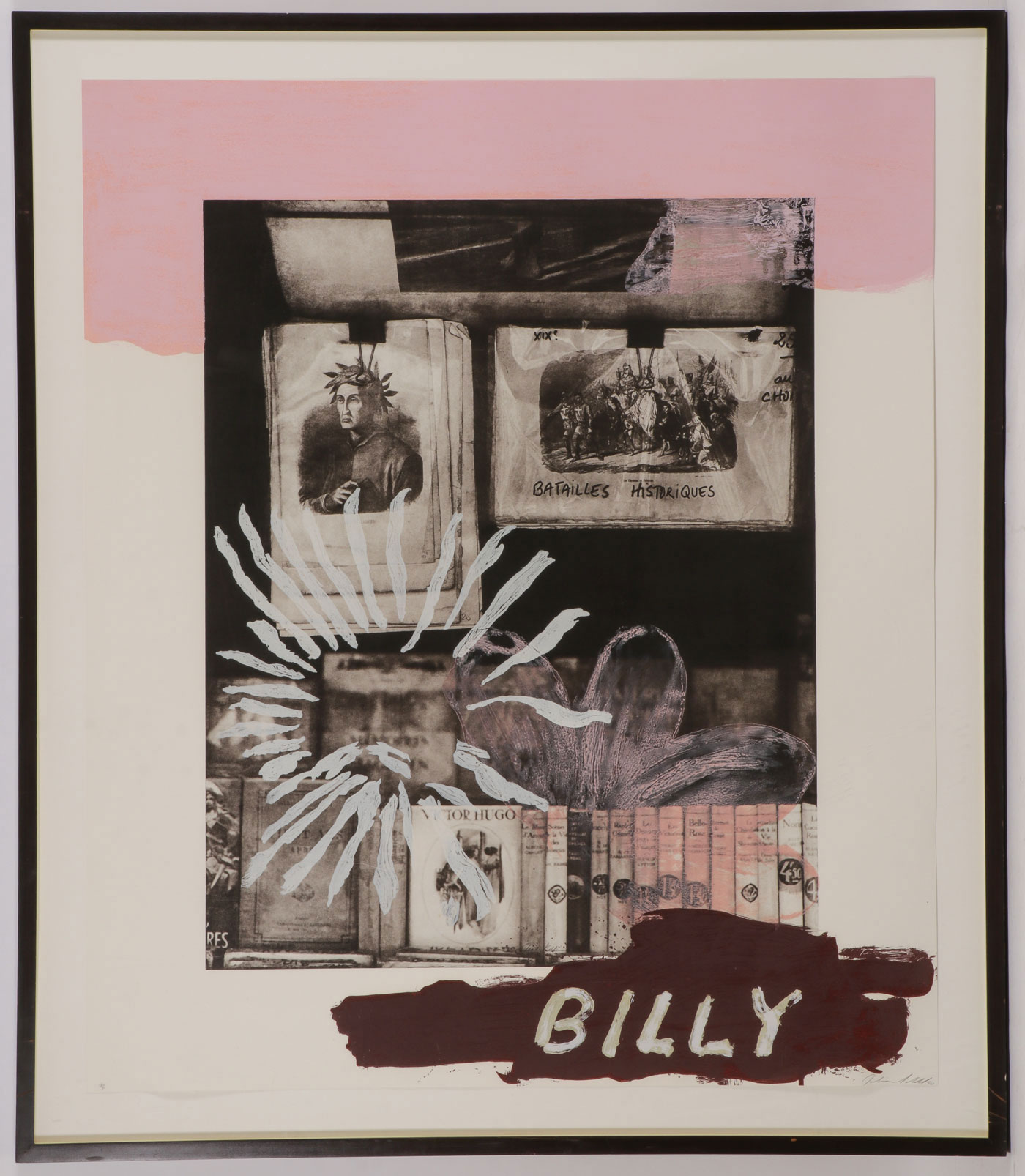 THREE JULIAN SCHNABEL SIGNED WORKS - Image 2 of 7