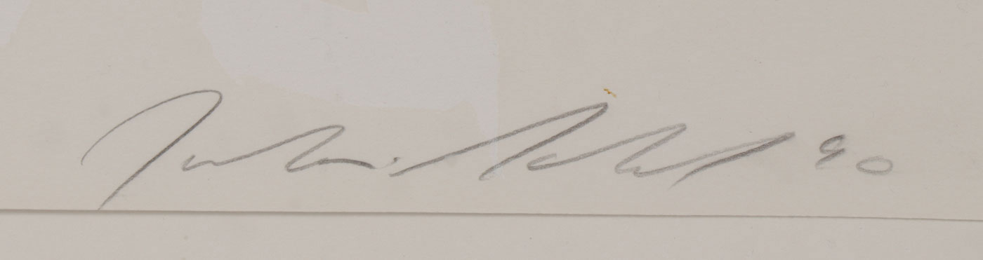 THREE JULIAN SCHNABEL SIGNED WORKS - Image 6 of 7