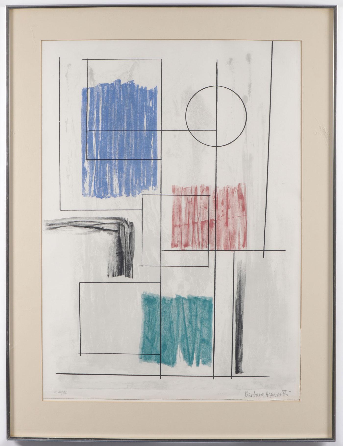 BARBARA HEPWORTH MODERN WORK - Image 3 of 3