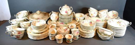A Royal Doulton Gleneagles Part Tea and Dinner Service comprising three meat platters, a tureen,