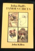 John Bull's Famous Circus Ulster History through the postcards 1905-1985, hardback with cover, by