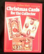 Christmas Cards for the collector in hardback with dust cover, by Arthur Blair and fully