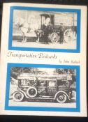 Transportation Postcards in paperback by John Kaduck, fully illustrated