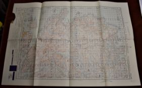 Scotland 'Loch Roag & Tarbert' War Office Edition, sheet 13, ordnance survey map, published 1950,