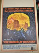 The bridge at Remagan - Vintage United Artist's Film Poster - The German's forgot one little