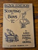Scouting For Boys 1936 revised edition by Lord Baden-Powell of Gilwell, published: C. Arthur