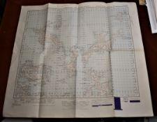 Scotland War Office Edition Map - Ordnance Survey - sheet 5 - (Orkney Islands (North) Published 1948