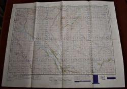 Scotland 'Laig Loch Shin' War Office Edition-Ordnance survey map - sheet 16- published 1950-mint