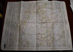 Pickering Yorkshire-Ordnance Survey War Office Edition Map/National Grid, sheet 92, War Office
