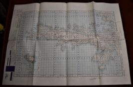 Scotland War office Edition - ordnance Survey - sheet 4, south mainland (Shetland Islands) folded,