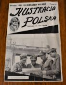 WWII-Polish magazine- Illustrating Poland on VE Day Oct 1945, good clean lot