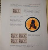 Scouting 1932-1961 - A collection of stamps, covers, Stickers and Slogans. Another interesting