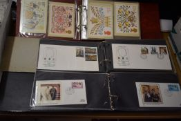 Benham Silk First Day Covers - An album of covers for the 1981 Royal Wedding, Great Britain 1973-