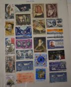 France - A collection of fine used commemorative issues on approx 50 pages, unpicked with Airmails