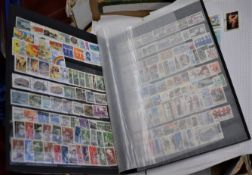 Assorted World an album pages etc., An untidy lot with better ranges of Finland, Peru, Australia (10