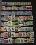 Australia - assorted in a full large stockbook, some early, £2 arms suit specimen as packet maker (