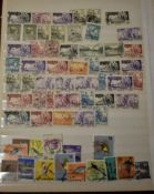 Assorted Foreign ranges, letters S-V in a stockbook. (100's)
