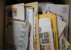 Foreign Cover unsorted lot in a large carton,