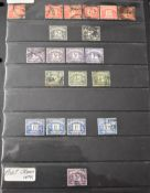 Great Britain assorted on Hagner pages with a range of Postage dues and quantity of machins and