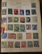 World collection in an old (7th Edition) 'Strand' Album, remainders but many stamps remaining (100'