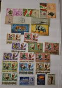 French Colonies 1960's to 1980's - Burundi and Card Chad mint & used with many thematic sets Jumbo