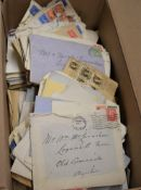 Great Britain Postal History - A quantity of envelopes from a Scottish Correspondence and that of