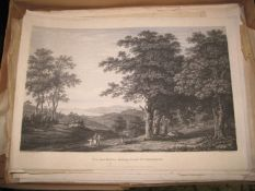 LAKE DISTRICT, engravings after Joseph FARINGTON, 1788/89; & coll'n of prints after J. M. W. Turner,
