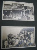 [PHOTOGRAPHS] diverse archive relating to London Missionary activity; holidays; small q. of equine