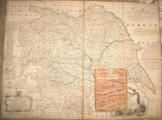[MAP] BOWEN (E.) mapmaker / surveyor: A New Map of the County of York...shewing also by Concentric