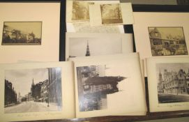 PHOTOGRAPHY / OXFORD. Group of 19th century albumen photographs of Oxford.