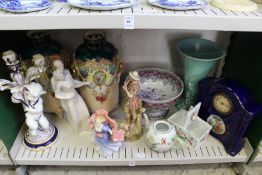 A quantity of decorative ornaments and other china.